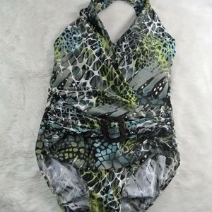 Magic Suit Tropical Snakeskin Shaping Swimsuit